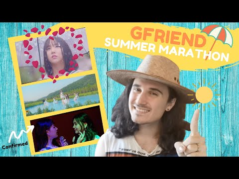 GFRIEND (여자친구) MARATHON - Love Whisper + Summer Rain + Sunny Summer M/V | REACTION | MY HEALERS!