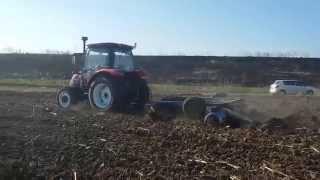QLN1004 working in Romania_Henan Qianli_Bruce Woo_Email:sales04@qln-tractor.com
