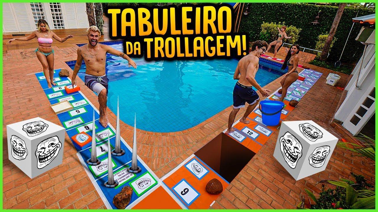 TABULEIRO GIGANTE DA TROLLAGEM!! ( NOVO MINI GAME ) [ REZENDE EVIL ]