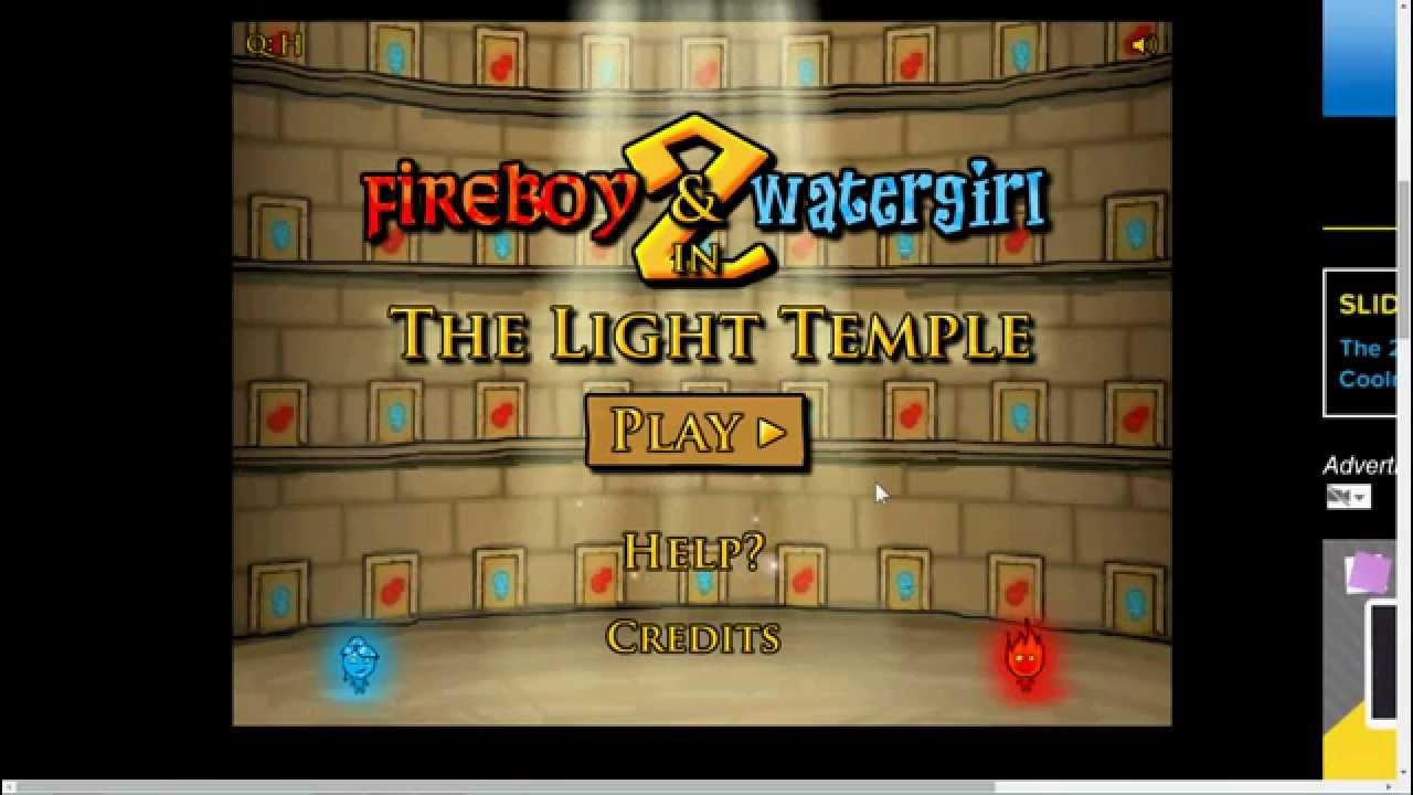Fireboy and Watergirl: The Forest Temple 3 • Free Online ...