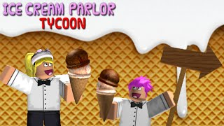 ICE-CREAM TYCOON | Roblox w/ Tristan Creative