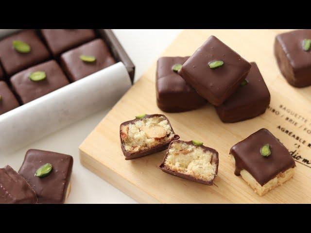手作りバレンタインチョコ チョコがけクッキーの作り方 Chocolate Cookies|HidaMari Cooking