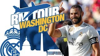 Real Madrid USA Tour | SKILLS, GOALS, JUVENTUS AND COOL MOMENTS