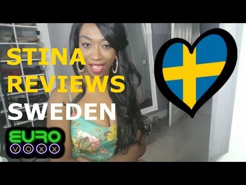 Sweden Eurovision 2017!! Robin Bengtsson reaction!! #StinaReviews #Eurovoxx