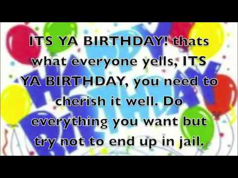ab36f3b01d2 Did a happy birthday rap dance for son youtube jpg 480x360 Happy birthday  rap song youtube. Download Image