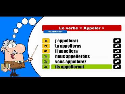 La Conjugaison Du Verbe Appeler Indicatif Futur Simple Youtube