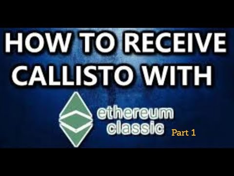 How To claim Callisto after ETC hardfork? Part 1