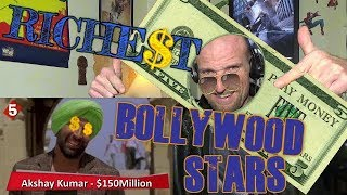 RICHEST BOLLYWOOD ACTORS - REACTION