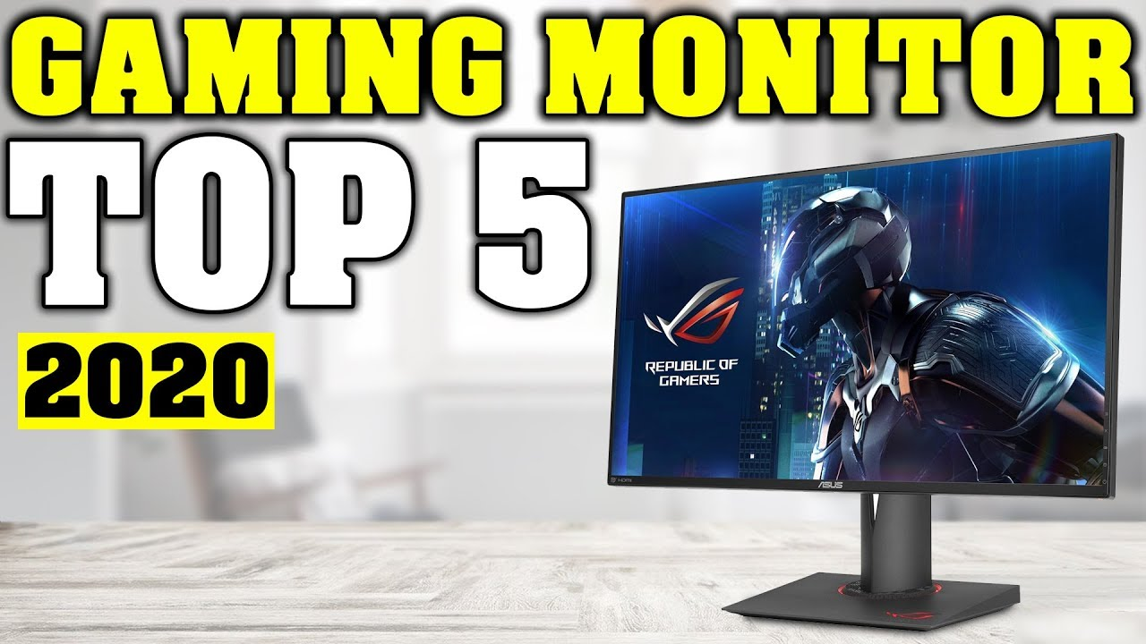 TOP 5: Best Gaming Monitor 2020