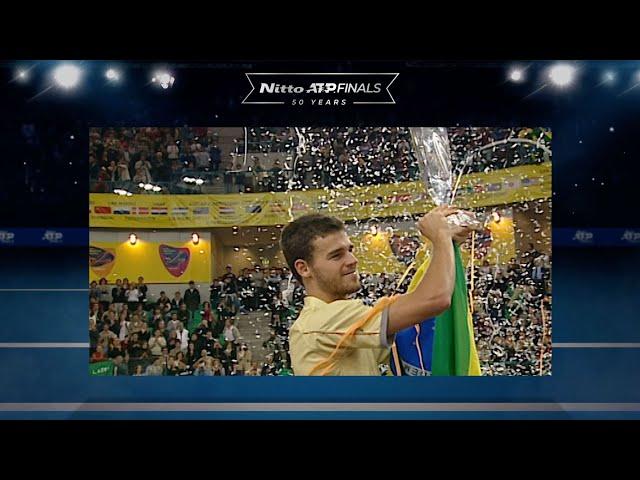 NITTO ATP FINALS   Kuerten Makes History For Brazil