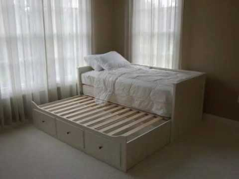 Ikea Trundle Bed Youtube