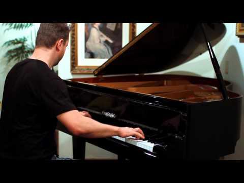 Popeye theme on piano - I'm popeye the Saylor Man