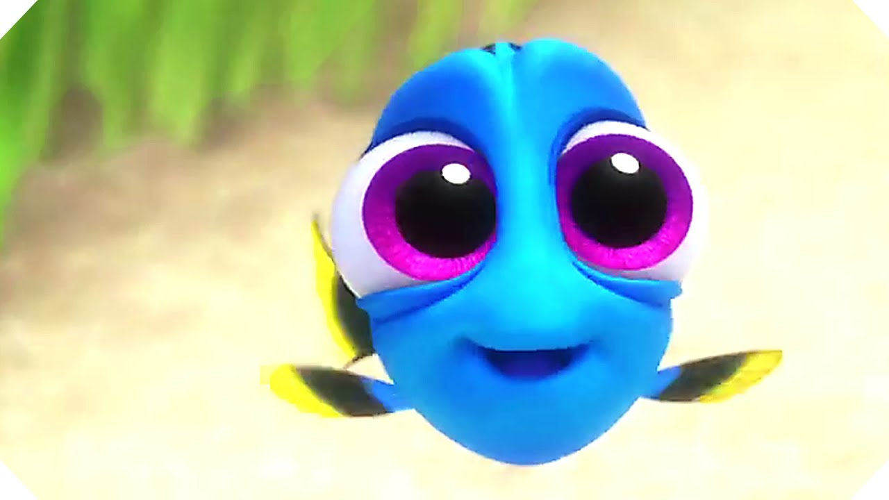 Disney Pixar S Finding Dory All The Movie Clips Including Baby