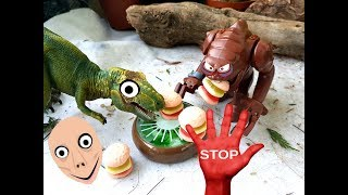 Яйцо и спинозавр Сборник мультиков про динозавров Все серии подряд