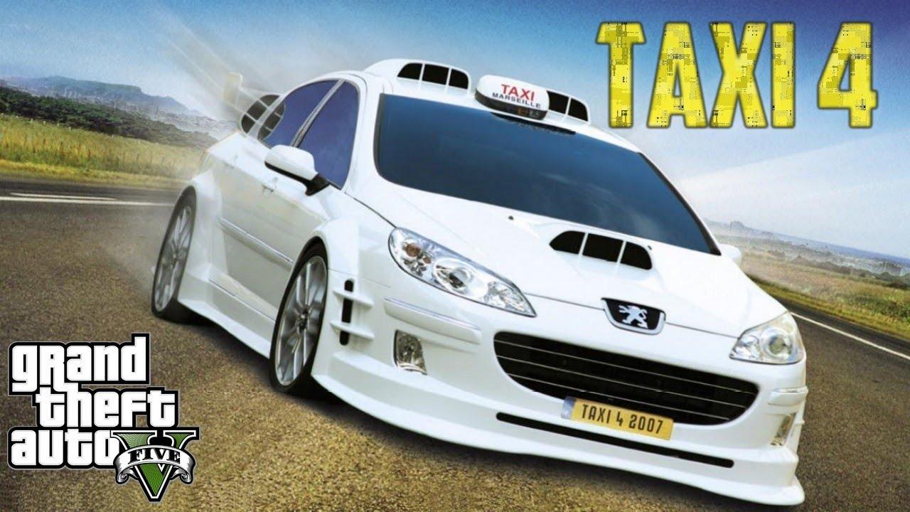 bande annonce taxi 4 sur gta 5 youtube. Black Bedroom Furniture Sets. Home Design Ideas
