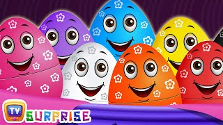 Surprise Eggs Wildlife Toys | Learn Wild Animals & Animal Sounds | ChuChu TV Surprise For Kids