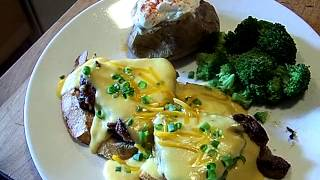 Beef Fillet Tournedos Horseradish Cheddar Cheese Sauce 3/3 Chef John The Ghetto Gourmet