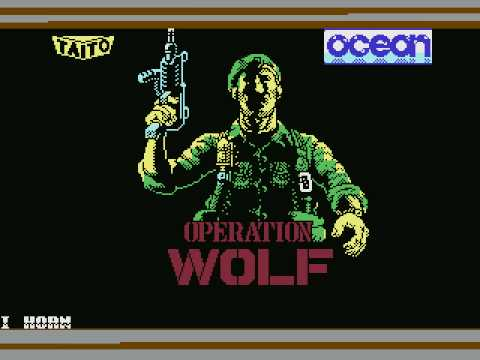 c64 music - Ocean Loader 5 & Operation Wolf title by J. Dunn