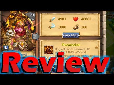 Castle Clash Grimfiend Review