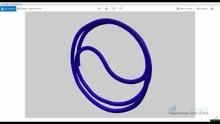 Видеоуроки Компас 3D V18 Скрепка фигурная в Компас 3D (элемент по траектории)