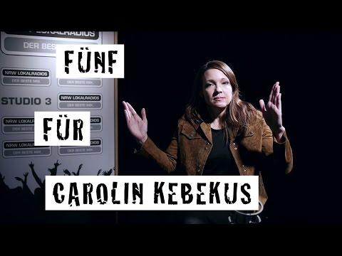 Fünf für Carolin Kebekus - das Interview ohne Fragen