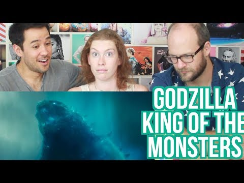 GODZILLA - King of the Monsters - Trailer - REACTION