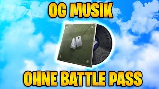 The Old OG music without the BATTLE pass get FORTNITE BATTLE ROYALE GLITCH