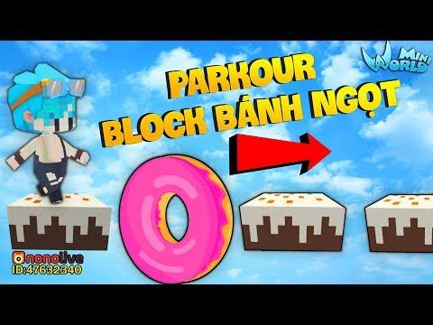 GUMBALL THỬ TH�CH PARKOUR BLOCK B�NH NGỌT SIÊU DỄ C�C BẠN TRONG MINI WORLD*MINI WORLD GUMBALL