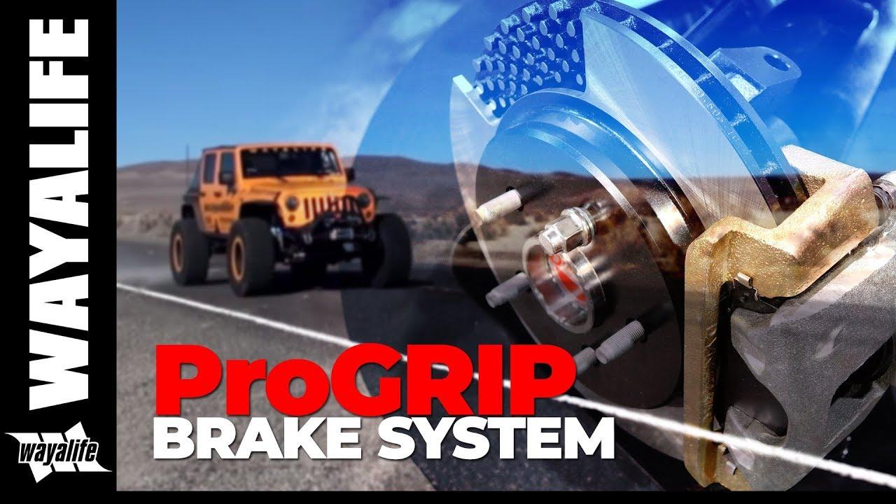 ProGrip Brake System for Jeep Wrangler JK