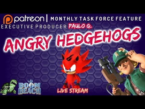 Boom Beach - ANGRY HEDGEHOGS - Patreon Producer: Paulo G.