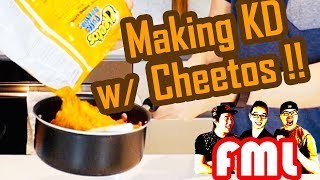WEIRD Food Combos Making Mac and Cheese with CHEETOS - Food Mystery Live EP 5