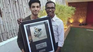 Anirudh honoured by Sony Music South