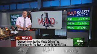 Jim Cramer recommends investors with big gains trim holdings and protect profits