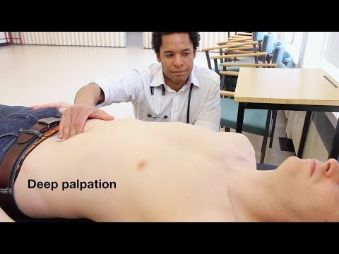 Abdominal Examination - OSCE Guide  (Old Version)