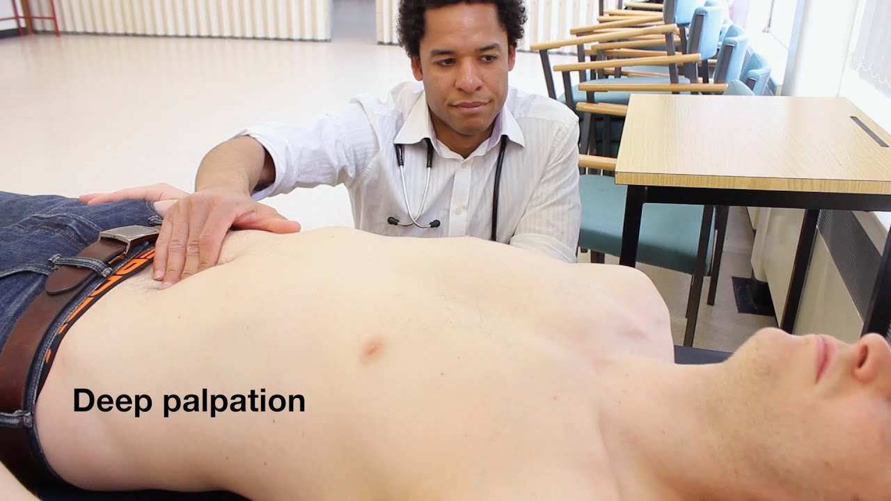 Abdominal Examination Osce Guide Old Version Youtube