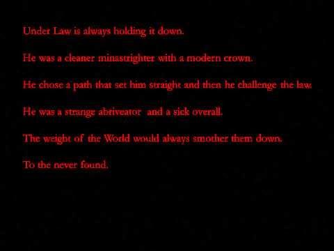TNA Jeff Hardy Humanomoly Lyrics