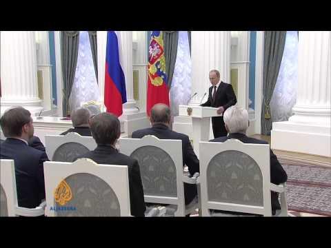 Crimea celebrates as region joins Russia