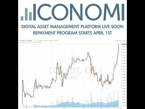ICONOMI - Fund Management Platform containing Ethereum, DASH, BITCOIN, Monero and more