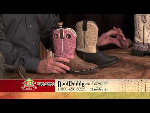 Review Of Durango Kids Flirt & Rebel Square Toe Cowboy & Cowgirl Boots BT287 & BT202