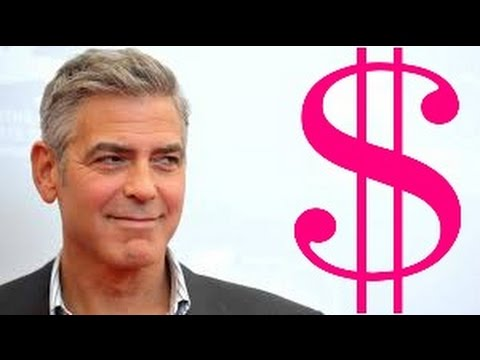 George Clooney Net Worth 2017 - YouTube