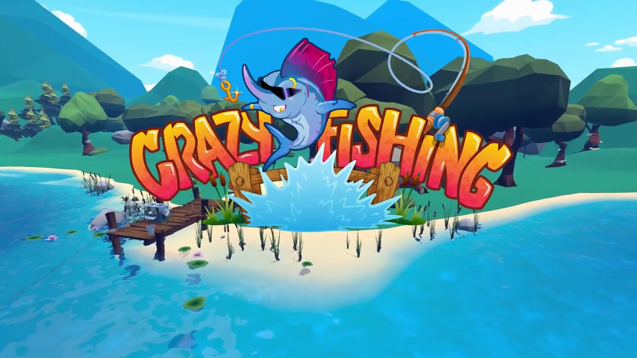 Crazy fishing steam game trailer youtube for Crazy fishing videos