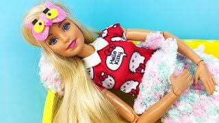 DIY Barbie Hacks : Sleep mask, pencil Case, Barbie Shoes, and more