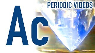 Actinium  2 - Periodic Table of Videos