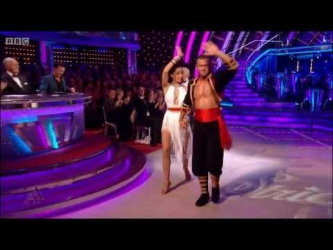 Natalie Gumede & Artem Chigvintsev    Cha Cha week1  Strictly Come Dancing 2013