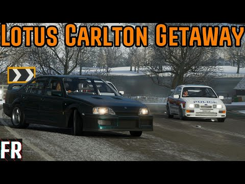 Forza Horizon 4 - Historic(Ish) Car Chases - Lotus Carlton thumbnail