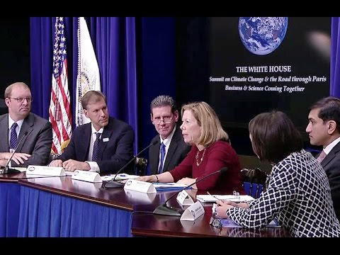 White House Summit on Climate & the Road through Paris