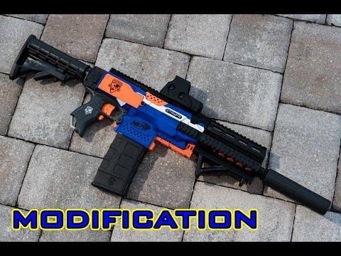 [MOD] Nerf Stryfe M4/M16 - 3D Printed Parts Kit! (Worker/F10555)