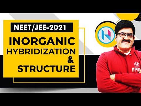 Inorganic Hybridization & Structure by Er. Dushyant Kumar (B.Tech., IIT-Roorkee)