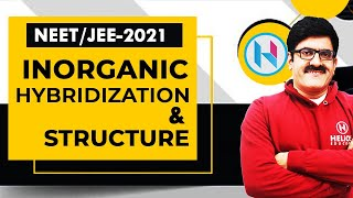 Inorganic Hybridization & Structure by Er. Dushyant Kumar (B.Tech., IIT-Roorkee)
