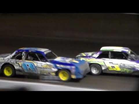 Hobby Stock Amain @ Hancock County Speedway 08/11/17